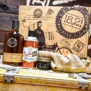 Gift Set Man Made Wash, Clay & Premium Hair Spray | Sweet Tobacco