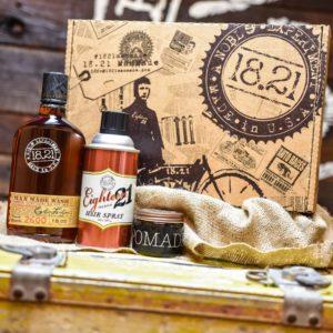 Gift Set Man Made Wash, Pomade & Premium Hair Spray | Sweet Tobacco