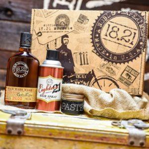 Gift Set Man Made Wash, Paste & Premium Hair Spray | Sweet Tobacco