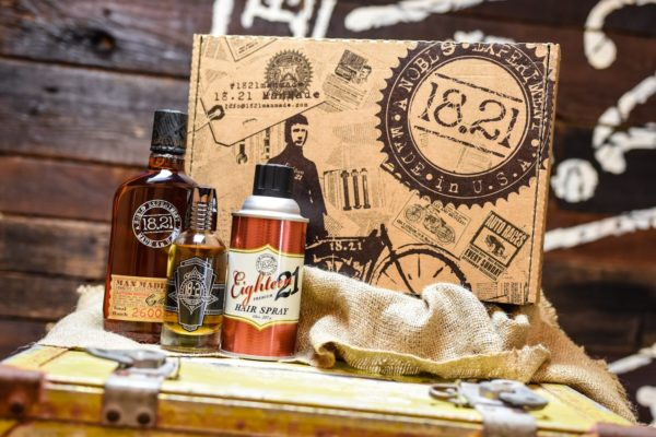 Gift Set Man Made Wash, Premium Hair Spray & Sweet Tobacco Spirits | Sweet Tobacco
